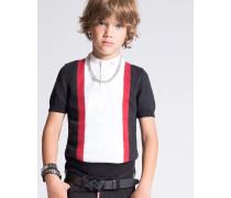 Striped Polo Hemd