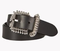 Piercing Leather Belt