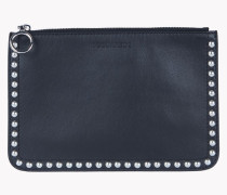 Stud Leather Pouch