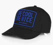 Be Cool Be Nice Patch Baseball Cap