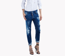Cool Girl Distressed Jeans