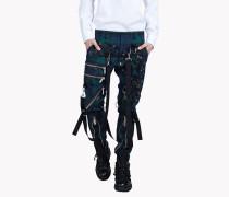Punk Diamond Bondage Pants