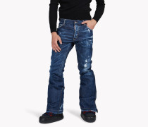 Technical Ski Flared Jeans
