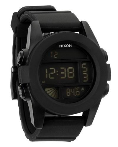 nixon herren schwarze armbanduhr unit reduziert. Black Bedroom Furniture Sets. Home Design Ideas