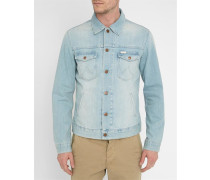Hellblaue Jeansjacke Regular Jacket