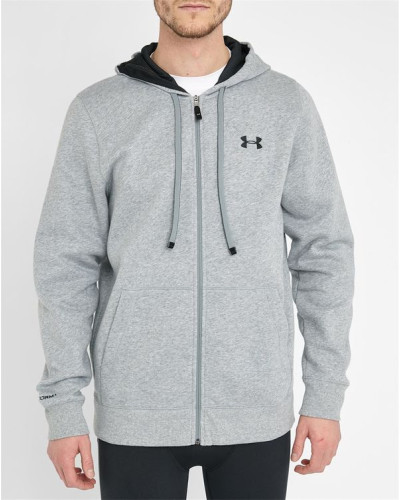 under armour herren grauer wasserabweisender hoody storm. Black Bedroom Furniture Sets. Home Design Ideas