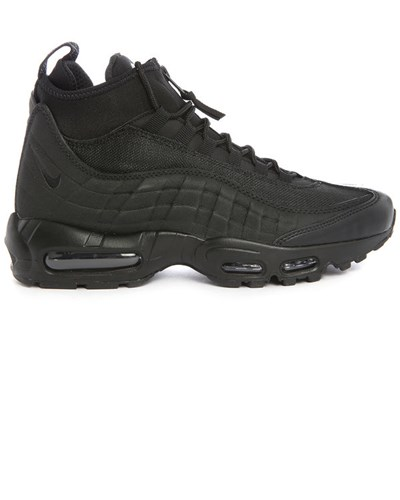 nike herren schwarze air max 95 sneakerboot reduziert. Black Bedroom Furniture Sets. Home Design Ideas