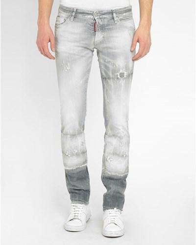 dsquared herren graue slim jeans reduziert. Black Bedroom Furniture Sets. Home Design Ideas