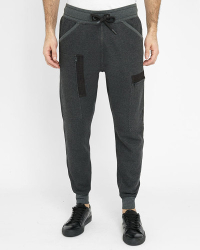 g star raw herren graue jogginghose mit gummibund und taschen powel sweet reduziert. Black Bedroom Furniture Sets. Home Design Ideas