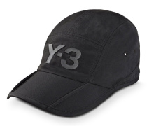 Y-3 BLACK FOLD CAP