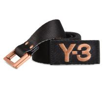 Y-3 Y-3 3-STRIPES BELT