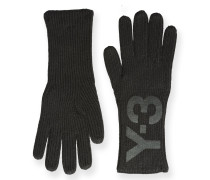 Y-3 Y-3 LOGO GLOVES
