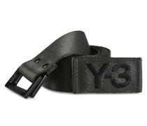 Y-3 Y-3 BLACK OLIVE BELT
