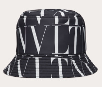 VALENTINO Bucket Hat Vltn Times aus Nylon