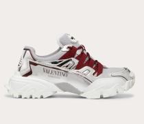 Sneakers Climbers aus Textil und Kalbsleder