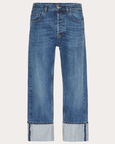 Valentino Uomo Baggy Jeans mit Vltn-webkante