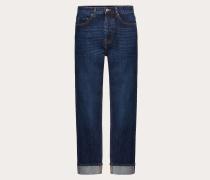 VALENTINO Jeans mit Vltn-webkante