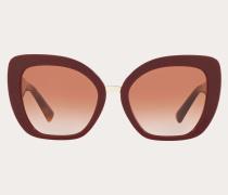 VALENTINO Oversize-cateye-Sonnenbrille aus Acetat