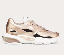 Valentino Garavani Vltn Low-top Sneaker Bounce Metallic