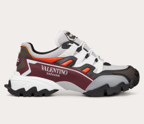 VALENTINO GARAVANI Sneakers Climbers aus Textil und Leder