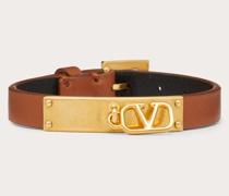 VALENTINO GARAVANI Armband Vlogo Signature aus Kalbs