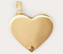 VALENTINO GARAVANI Herzförmiger Anhänger Call Me Valentino aus Metall