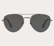 VALENTINO Pilotensonnenbrille aus Metall