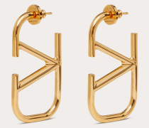 VALENTINO GARAVANI Ohrringe Vlogo Signature aus Metall