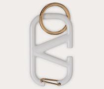 Schlüsselanhänger Vlogo Signature aus Lackiertem Metall