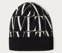 VALENTINO GARAVANI Mütze Vltn Times aus Wolle