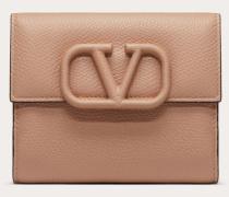 Kompaktes Portemonnaie Vsling aus gekörntem Kalbsleder