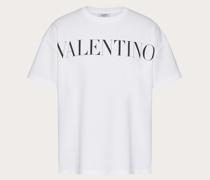 """VALENTINO T-shirt aus Baumwolle mit """"valentino""""-print XS"""