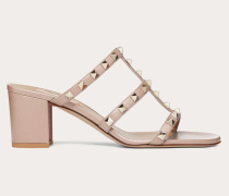 VALENTINO GARAVANI Slider-sandalen Rockstud aus Kalbsleder % Kalbsleder % Kalbsleder