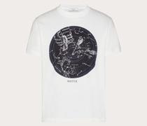 VALENTINO T-shirt mit Zodiac Map-print XS