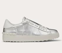 Sneakers Open Vltn aus Laminiertem Kalbsleder