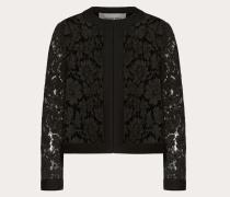 Jacke aus Crêpe Couture und Heavy Lace