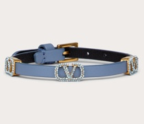 VALENTINO GARAVANI Armband Vlogo Signature aus Leder