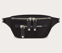 VALENTINO GARAVANI Mini-gürteltasche aus Nylon mit Vltn-bändern