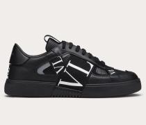 Sneakers Vln aus Kalbsleder und Bändern