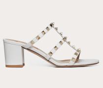 Slider-sandalen Rockstud aus Kalbsleder mitMm-absatz