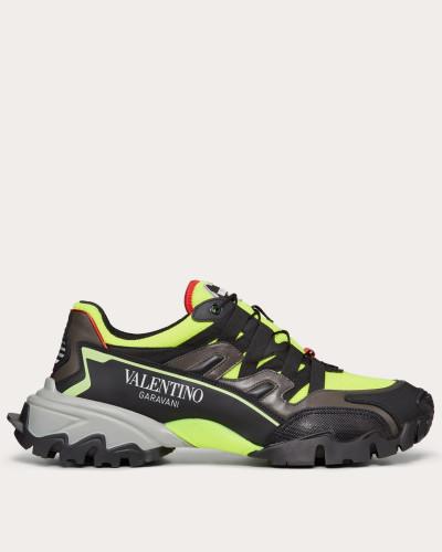 Sneakers Climbers aus Stoff und Leder