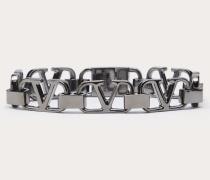 VALENTINO GARAVANI Armband Vlogo Signature aus Metall M
