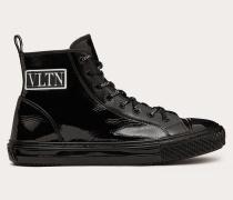 VALENTINO GARAVANI Hightop-sneakers Giggies aus Kalbslackleder% Pelle Di Vitello - Bos Taurus