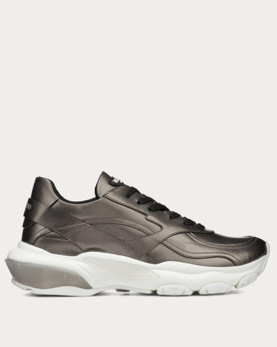 Lowtop-sneaker Bounce in Metallic-Optik