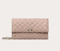 VALENTINO GARAVANI Crossbody Bag Rockstud Spike Im Pochette-stil aus Nappaleder