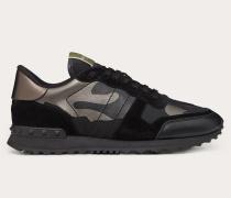 VALENTINO GARAVANI Sneakers Rockrunner in LaminierterCamouflage-Optik