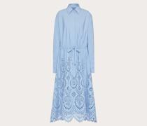 VALENTINO Hemdkleid aus Popeline  San Gallo Edition