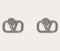 Ohrringe Vlogo aus Metall
