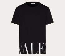 VALENTINO T-shirt mit Valentino Print XS