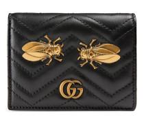 GG Marmont Kartenetui mit Nachtfalter-Niete